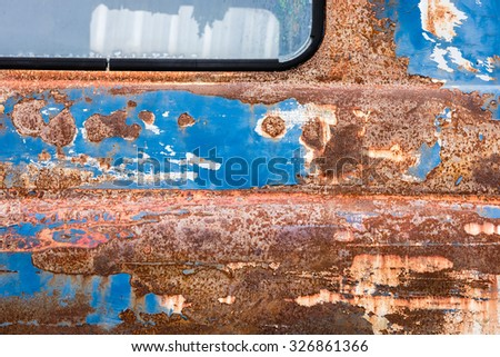 Abstract generated textured rust metal surface background - stock photo