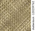 Abstract generated wicker pattern seamless basket background - stock photo