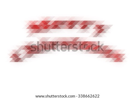 Abstract Geometric isolated Christmas pattern, triangles background well use as Studio backdrop ,business report,digital,website template.