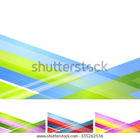 Abstract geometric minimal background - stock photo
