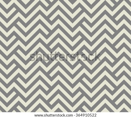 Abstract geometric pattern by stripes, lines. A seamless background. Gray texture. - stock photo