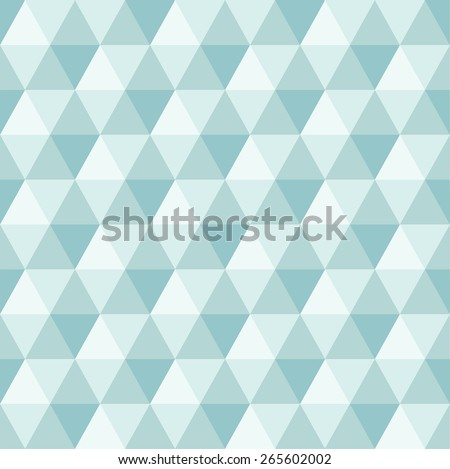 Abstract Geometric Triangle Seamless Pattern, illustration - stock photo
