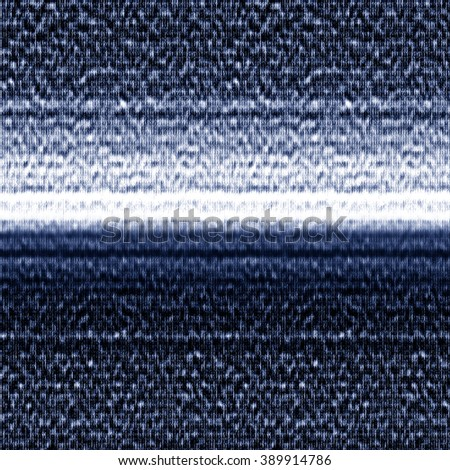 Abstract glitch striped motif. Seamless pattern. - stock photo