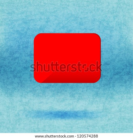 Abstract glossy speech vector background.
