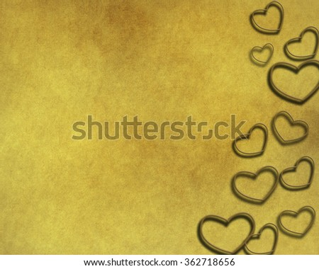 Abstract Glow Soft Hearts for Valentines Day Background Design.