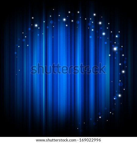 Abstract glowing background with magic lights