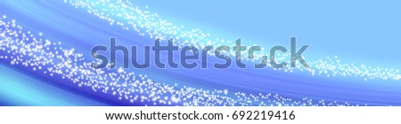 Abstract glowing background with sparkle stars or banner