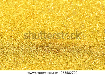 Abstract gold background, - stock photo