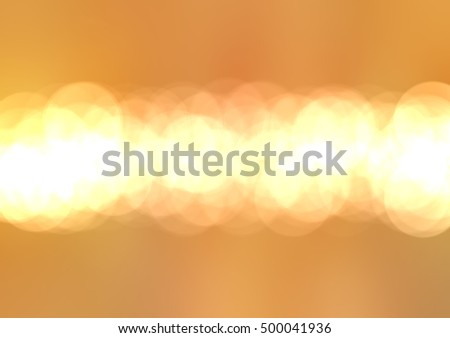 abstract gold bokeh circles. Background with particles. illustration beautiful.