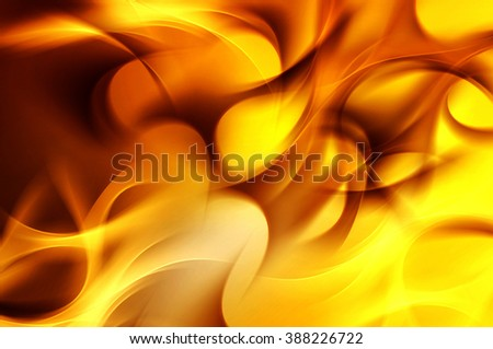 Abstract Gold Fire Element of Design Background