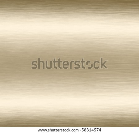 Abstract gold grunge scratched brushed metal background texture. - stock photo