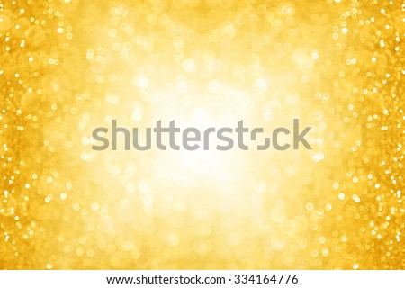 Abstract gold sparkle glitter background party invitation for Christmas and holidays - stock photo