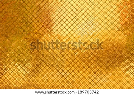 abstract golden blocks texture glitter background - stock photo