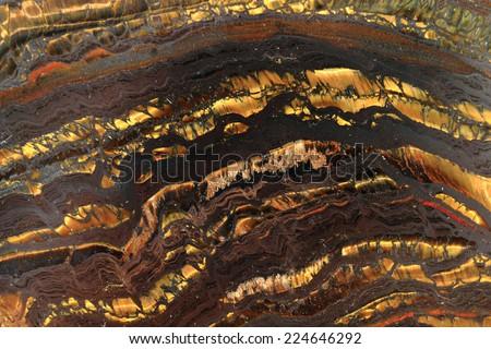 abstract golden mineral background - stock photo