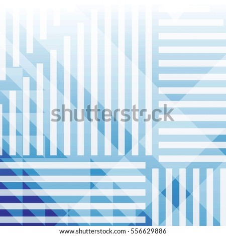 Abstract gradient background with geometric shapes
