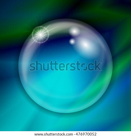 Abstract gradient blurred colorful background. Illustration