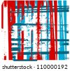 abstract graphic design raster stripes background - stock vector