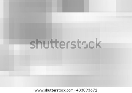 abstract gray lines square background - stock photo