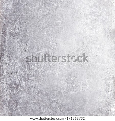 Abstract gray old background  with scratches. Vintage grunge board texture, elegant monochrome background design. Grungy textured wall. - stock photo