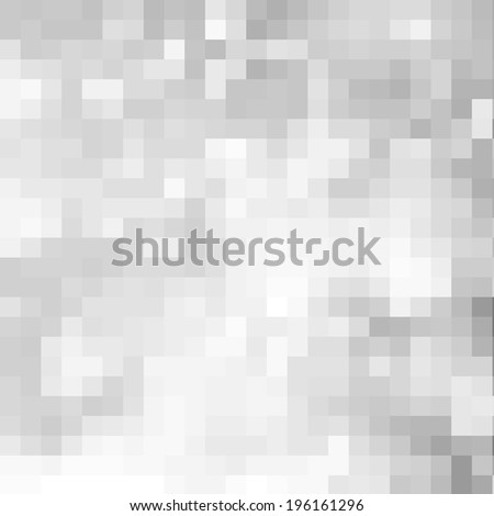 Abstract gray pixel background - stock photo
