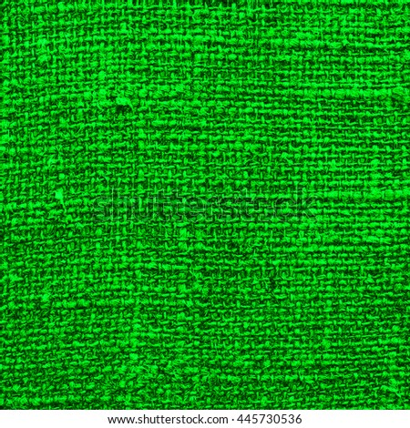 Abstract green background fabric texture pattern