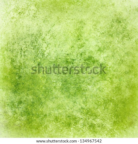Abstract Green Background Lime Color Vintage Grunge Texture Design Elegant Antique Painted Wall Illustration
