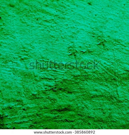 abstract green background texture cement. Concrete wall - stock photo