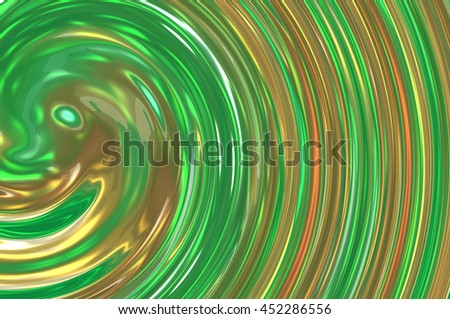 Abstract green creative background