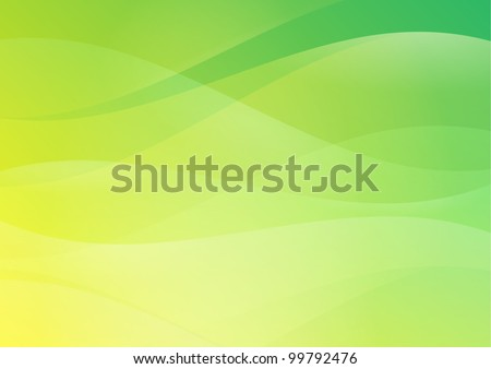 Abstract Green Hill Country Background Wallpaper