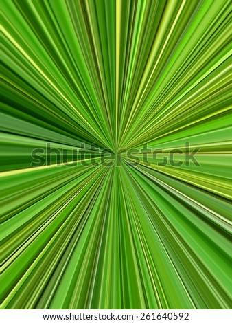 abstract green stripes - stock photo
