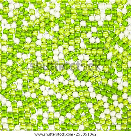 abstract green tile background - stock photo