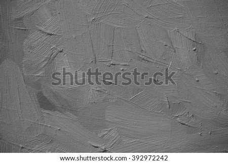 abstract grey background, painting by oil on a canvas