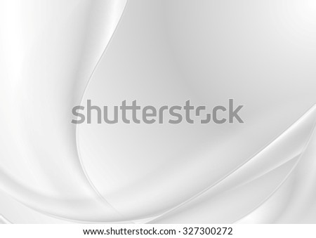 Abstract grey pearl elegant waves
