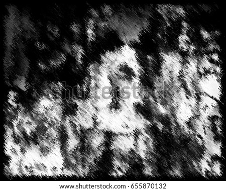 Abstract grunge background of black and white. Background of the abstract elements, straights, curves, lines, blurred and scratches. Vintage texture black and white to create your design