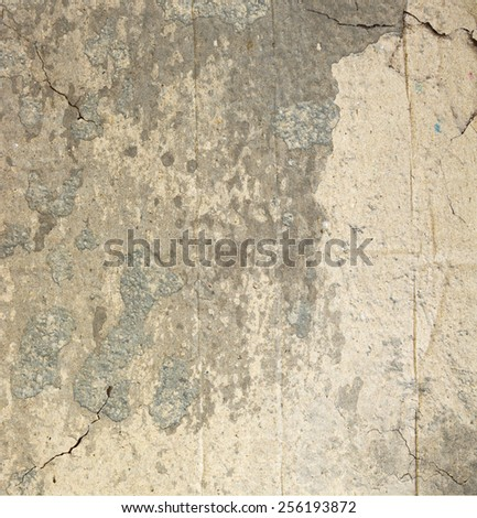 Abstract grunge background with cracks - stock photo