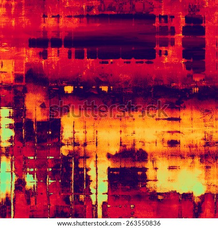 Abstract grunge background. With different color patterns: yellow (beige); red (orange); purple (violet); pink - stock photo
