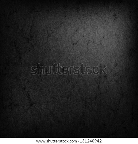 Abstract grunge black texture - stock photo