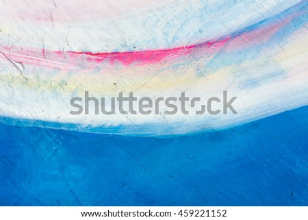 Abstract grunge brush strokes hand painted background.Can be used for design, websites, interior, background,  texture creation, the use of graphic editors and illustration. - stock photo