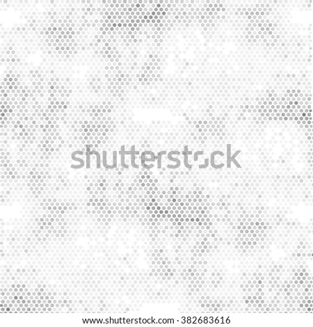 Abstract grunge grid polka dot background pattern. Spotted line illustration - stock photo