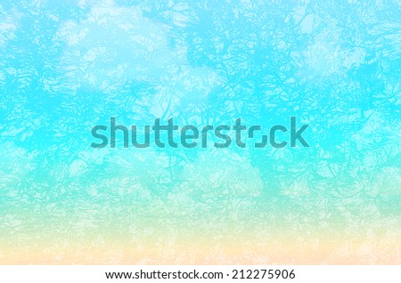 Abstract Grunge texture background, summer color tone