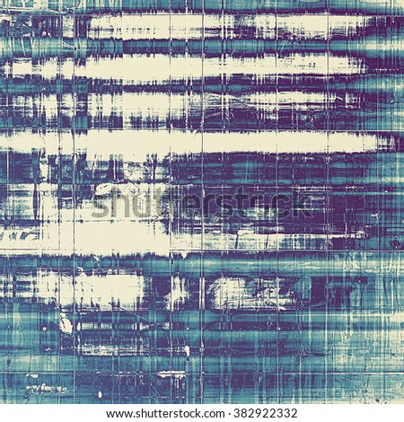 Abstract grunge textured background. With different color patterns: blue; purple (violet); cyan; white - stock photo