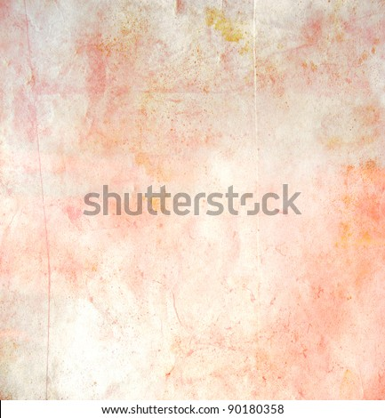 abstract grunge watercolor paint background - stock photo