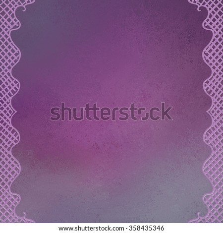 abstract hand drawn border illustration in messy hatchwork criss cross and symmetrical design curves on grunge textured background - stock photo