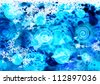 Abstract hand drawn watercolor background - stock