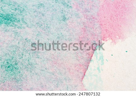Abstract hand painted arts background   - stock photo