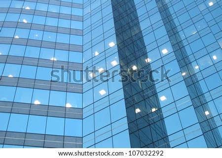 Abstract High Rise Building 3 - stock photo