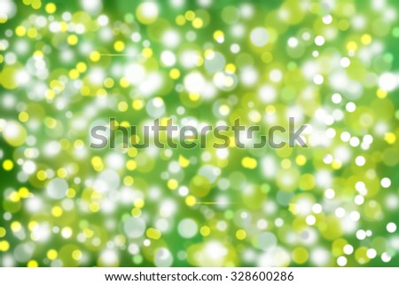 Abstract holiday background, beautiful shiny christmas lights, glowing magic bokeh