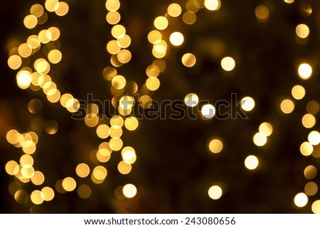 Abstract holiday background, beautiful shiny  lights, glowing magic bokeh - stock photo