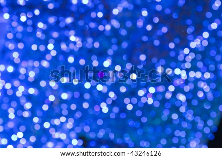 Abstract holiday blue  background - stock photo