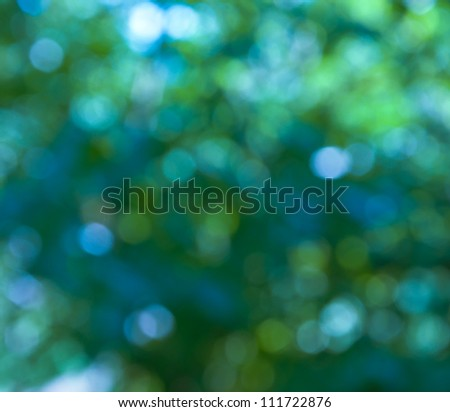 Abstract holiday lights - stock photo